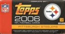 2006 Topps Football Factory Set (Box) (Pittsburgh Steelers)