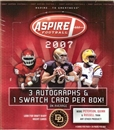 2007 Sage Aspire Football Hobby Box