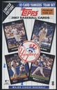 2007 Topps Baseball New York Yankees Team Set