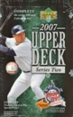 2007 Upper Deck Series 2 Baseball Hobby Box