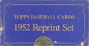 1952 Topps Reprint Baseball Factory Set