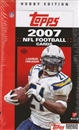 2007 Topps Football Hobby Box