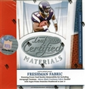2007 Leaf Certified Materials Football Hobby Box