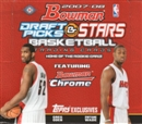 2007/08 Bowman Draft Picks & Stars Basketball Hobby Box