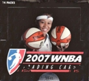 2007 Rittenhouse WNBA Basketball Hobby Box