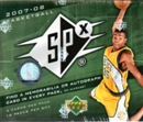 2007/08 Upper Deck SPx Basketball Hobby Box
