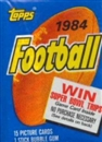 1984 Topps Football Wax Pack