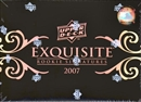 2007 Upper Deck Exquisite Rookies Baseball Hobby Box