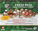 2008 Press Pass Football Hobby Box
