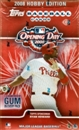 2008 Topps Opening Day Baseball Hobby Box