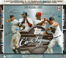 2008 Topps Co-Signers Baseball Hobby Box