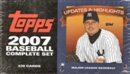 2007 Topps Updates & Highlights Factory Set Baseball (Box)
