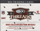 2008 Donruss Threads Football Hobby Box