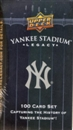 2008 Upper Deck Yankee Stadium Legacy Baseball Box Set