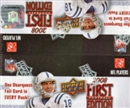 2008 Upper Deck 1st Edition Football 36-Pack Box
