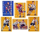1966/67 In The Game Parkhurst Hockey Trophy Winners Reprint Set