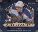 2008/09 Upper Deck Artifacts Hockey Hobby Box