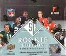 2008 Upper Deck SP Rookie Edition Football Hobby Box