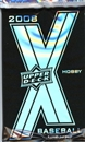 2008 Upper Deck X Baseball Hobby Pack