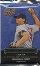 2009 Upper Deck Piece Of History Baseball Hobby Pack