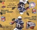 2008 Upper Deck Heroes Football 24-Pack Box