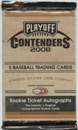 2008 Playoff Contenders Baseball Hobby Pack