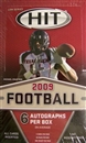 2009 Sage Hit Low Series Football Hobby Box