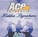 2009 Ace Authentic Hidden Signatures Series 1 Tennis Hobby Box