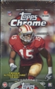 2009 Topps Chrome Football Hobby Box