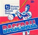 1980 Topps Baseball Cello Box