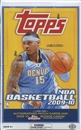 2009/10 Topps Basketball Hobby Box