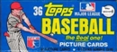 1981 Topps Baseball Grocery Cello Rack Pack