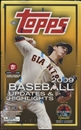 2009 Topps Updates & Highlights Baseball Hobby Box