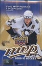 2009/10 Upper Deck MVP Hockey Hobby Box