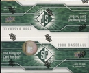 2008 Upper Deck SP Baseball Box