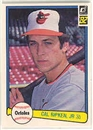 1982 Donruss Baseball Near Complete Set (NM-MT)