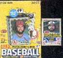 1983 Fleer Baseball Cello Pack