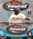 2010 Topps Finest Baseball Hobby Box