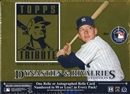 2010 Topps Tribute Baseball Hobby Box