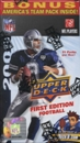 2009 Upper Deck First Edition Football 11-Pack Box