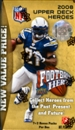 2008 Upper Deck Heroes Football 9-Pack 10-Box Lot