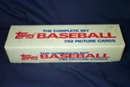 1987 Topps Baseball Factory Set (White Box)