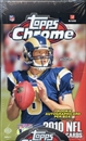 2010 Topps Chrome Football Hobby Box