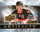 2010/11 Upper Deck Artifacts Hockey Hobby Box