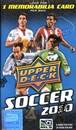 2010 Upper Deck Soccer 20-Pack Box