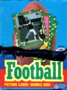 1986 Topps Football Wax Box