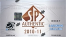 2010/11 Upper Deck SP Authentic Basketball Hobby Box