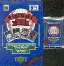 1989 Upper Deck High # Baseball Wax Pack