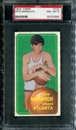 1970/71 Topps Basketball #123 Pete Maravich Rookie PSA 8 (NM-MT) *2863