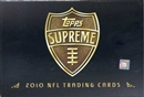 2010 Topps Supreme Football Hobby Box